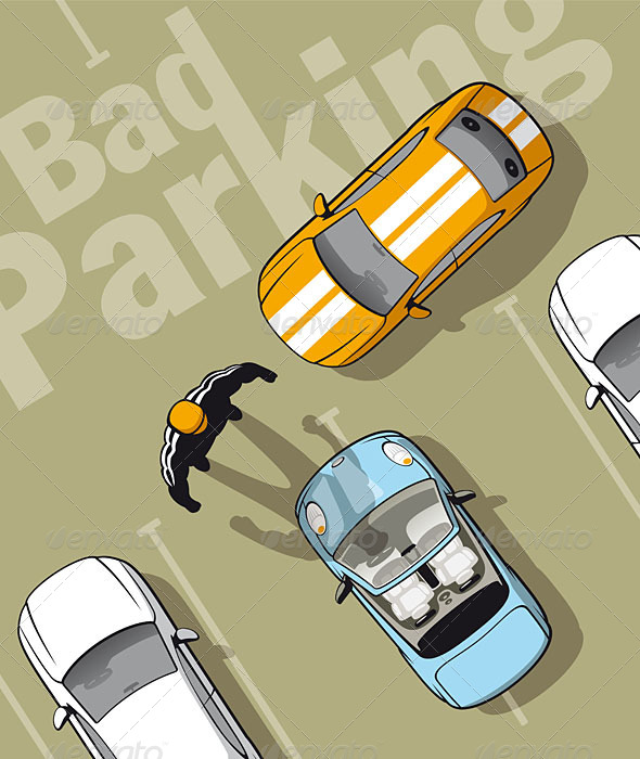 GraphicRiver Bad Parking 5064571