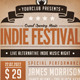 Indie Festival Flyer Poster - GraphicRiver Item for Sale