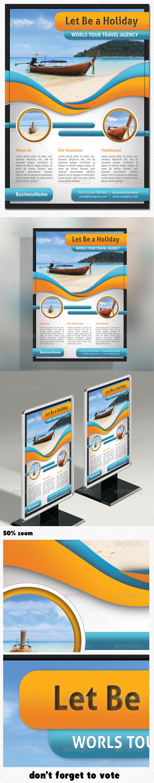 GraphicRiver Corporate Product Flyer 01 5002628