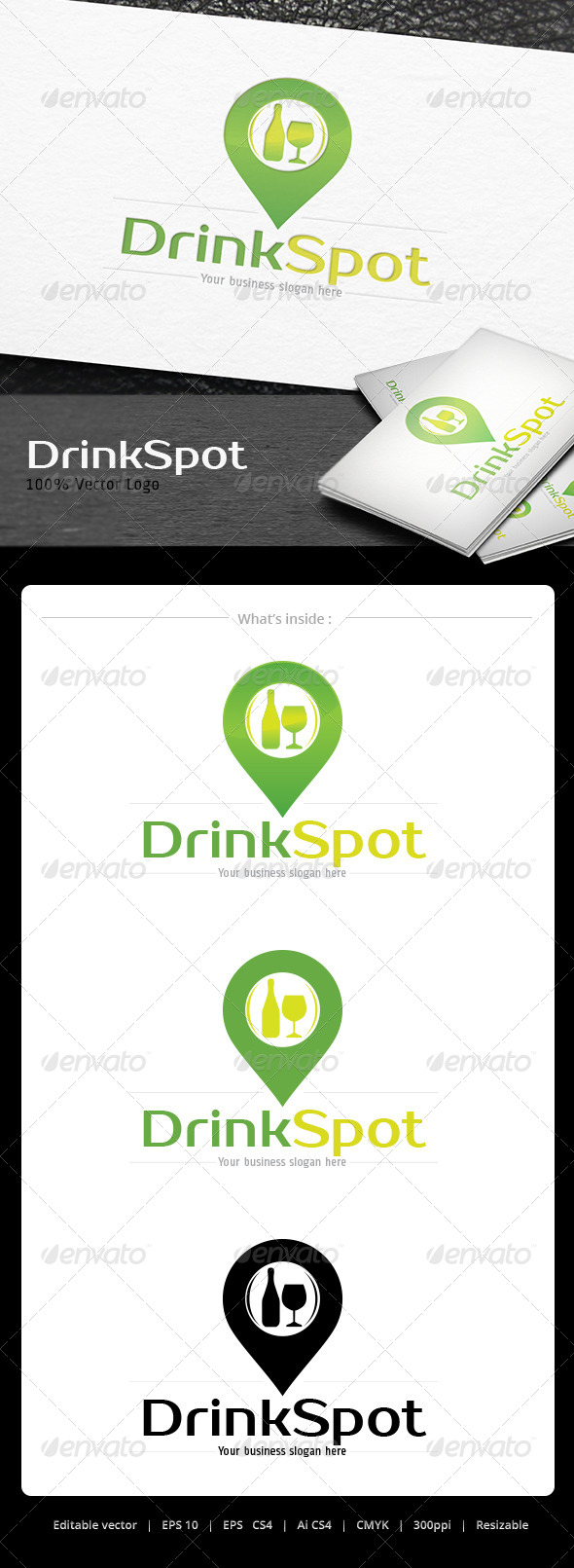 GraphicRiver Drink Spot Logo 5066940
