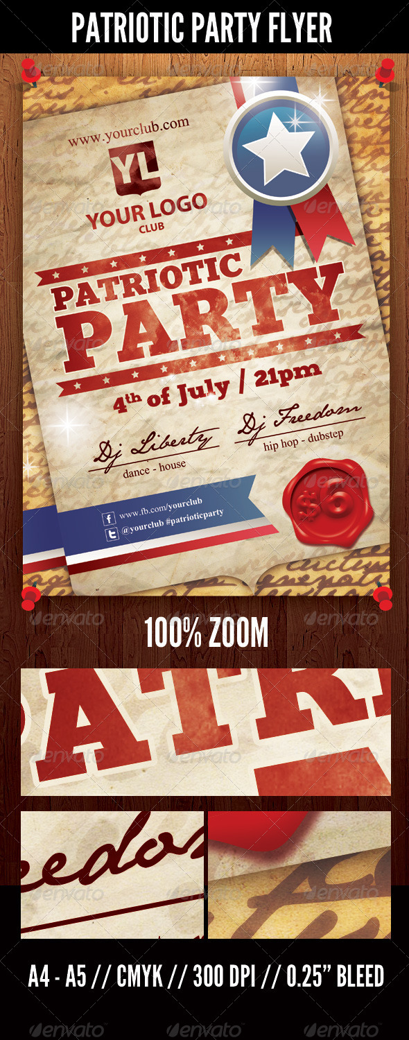 GraphicRiver Patriotic Party 5067051
