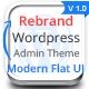 Rebrand Wordpress Admin Theme - Modern Flat UI - CodeCanyon Item for Sale