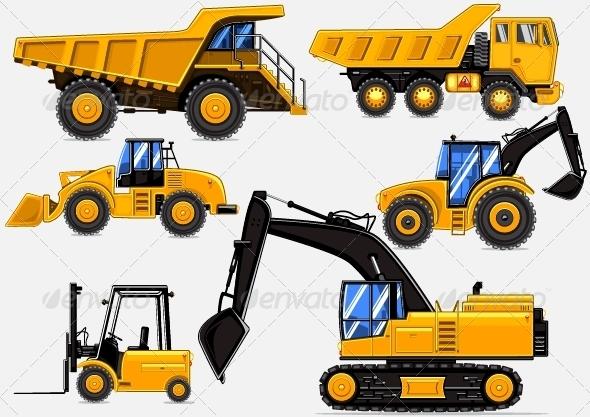 GraphicRiver Yellow Transport 5056801