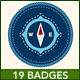 Scouting Badges - GraphicRiver Item for Sale