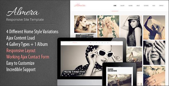 ThemeForest Almera Responsive Portfolio Site Template 5068888