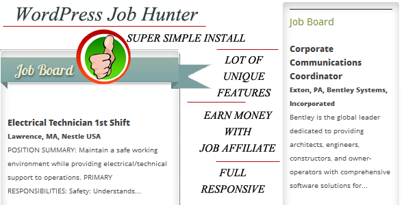 CodeCanyon WP Job Hunter 5043555