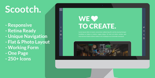 Scooch - Creative Business or Personal Template