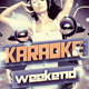 Karaoke Weekend Party - GraphicRiver Item for Sale