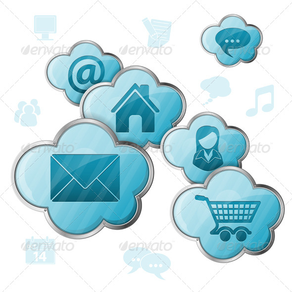GraphicRiver Cloud Computing 4263685