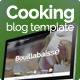 Cooking blog template (Food) Download