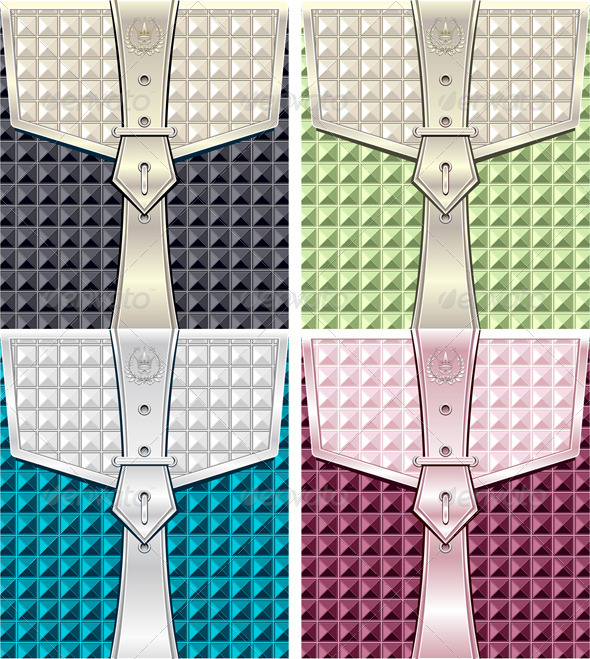 GraphicRiver Background with Geometric Seamless Pattern Belt 5072091
