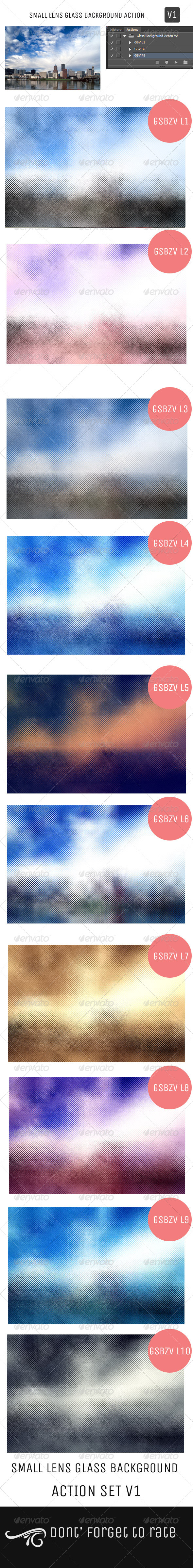 GraphicRiver Small Lens Glass Background Action V1 5072114