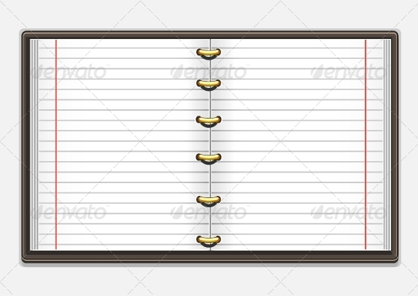 GraphicRiver Copybook with Lines 5072716