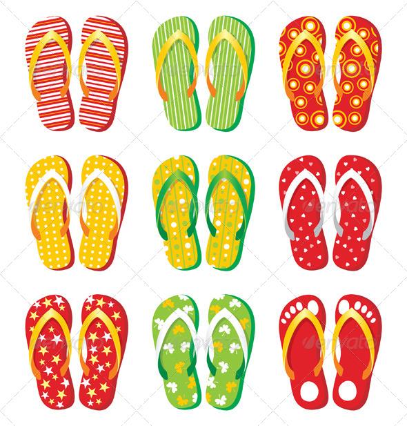 GraphicRiver Flip Flops 5073307