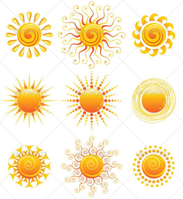 GraphicRiver Sun Icons 5073433