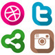 70 Social Media Icons - GraphicRiver Item for Sale