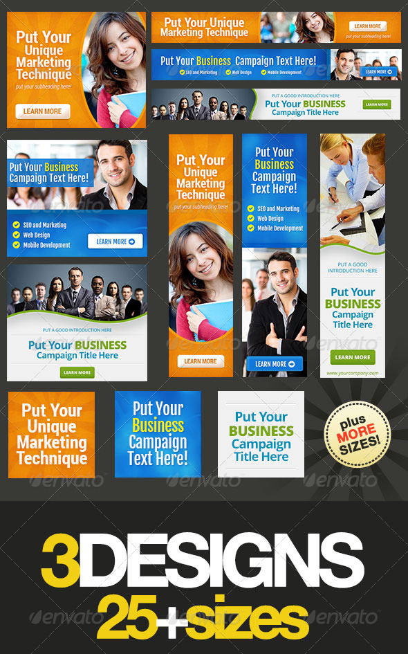 GraphicRiver Corporate Banner Set Bundle 5.0 5073719