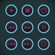 Media Audio Player Buttons - GraphicRiver Item for Sale