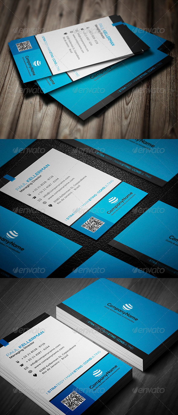 GraphicRiver Corporate Business Card 008 5075000