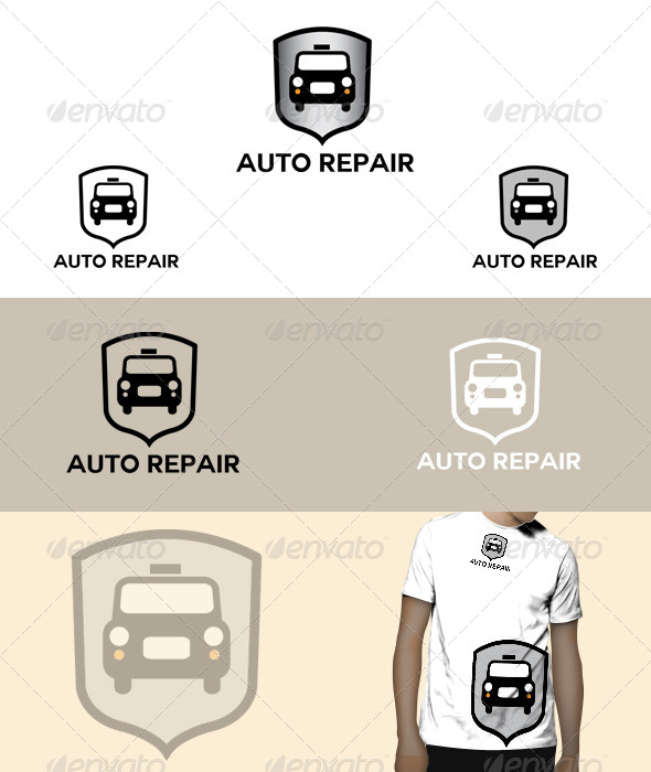 GraphicRiver Auto Repair Logo 5075261