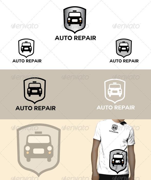 GraphicRiver Auto Repair Logo 5075261