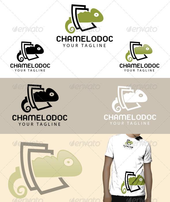 GraphicRiver Chamelo doc logo 5075282