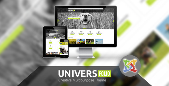 ThemeForest Universfolio Multipurpose Joomla Template 5075762
