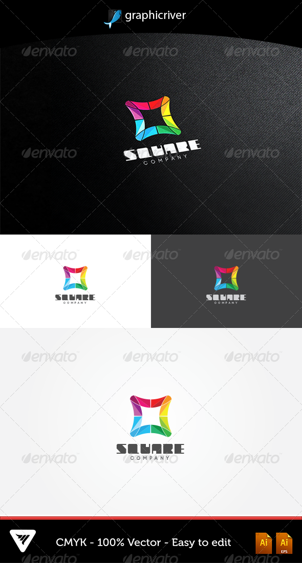 GraphicRiver Square Logo 5075775