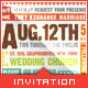 Love Film Clip II - Wedding Save the Date Template