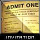 Corporate Invitation - 'Admit One' Ticket - GraphicRiver Item for Sale