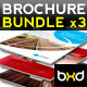 Brochures Bundle - InDesign Layout 01 - GraphicRiver Item for Sale