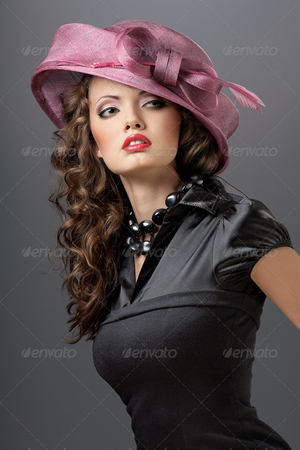Hat and dress. - Stock Photo - Images