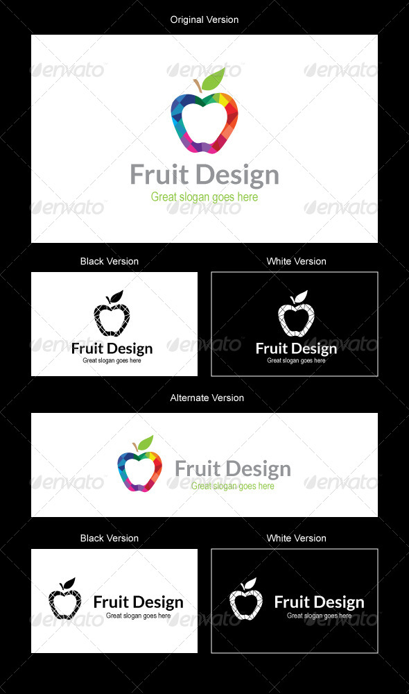 GraphicRiver Fruit Design Logo Design 5082220