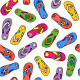 Seamless Flip-Flops Patterns - GraphicRiver Item for Sale