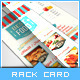 Retro Taste Food/Restaurant Rack Card - GraphicRiver Item for Sale