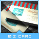 Retro Food/Restaurant Business Card - GraphicRiver Item for Sale