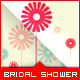 Bridal Shower Invitation - Daisy Flower Message - GraphicRiver Item for Sale