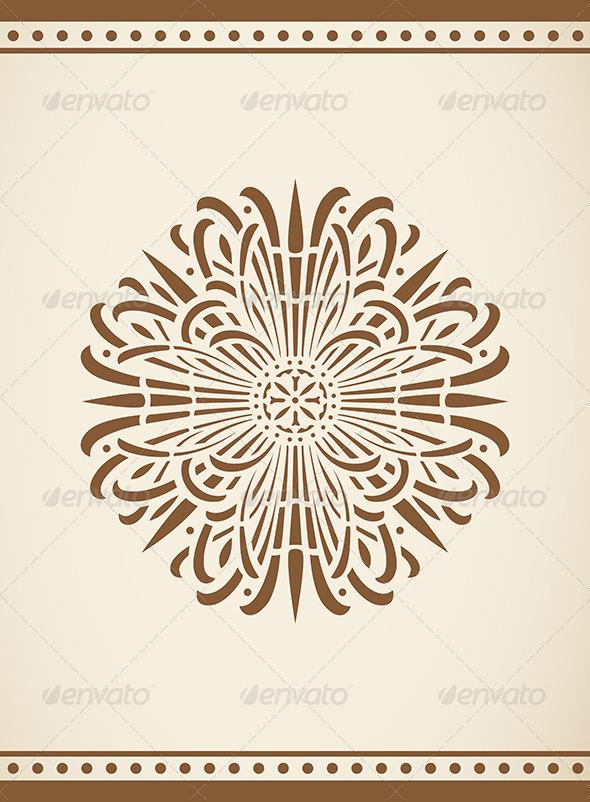 GraphicRiver Vintage Design Element 5084394
