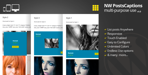 CodeCanyon WordPress Responsive Posts Gallery with Captions 5082518