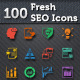Fresh SEO Icons - SEO and Internet Marketing Icons - GraphicRiver Item for Sale