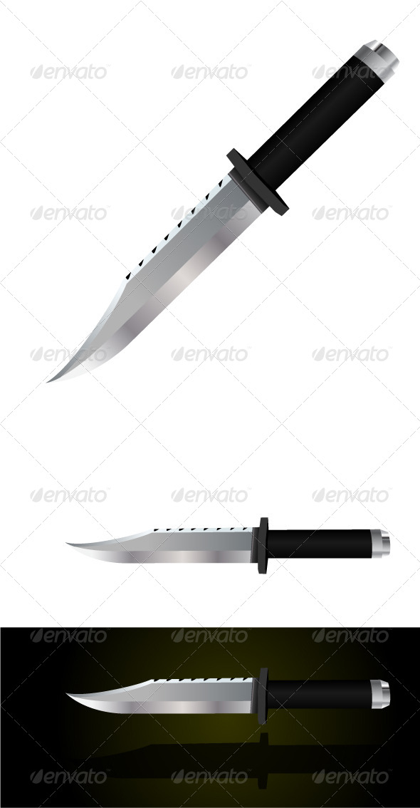 GraphicRiver Tactical Knife 5087268