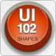 102 UI Shapes - GraphicRiver Item for Sale