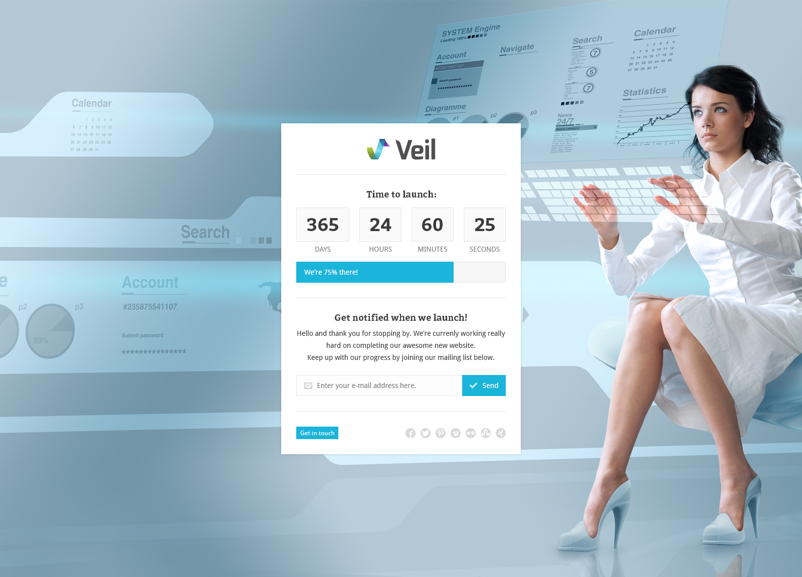Veil - Uber Premium Multipurpose PSD Theme w/ Shop