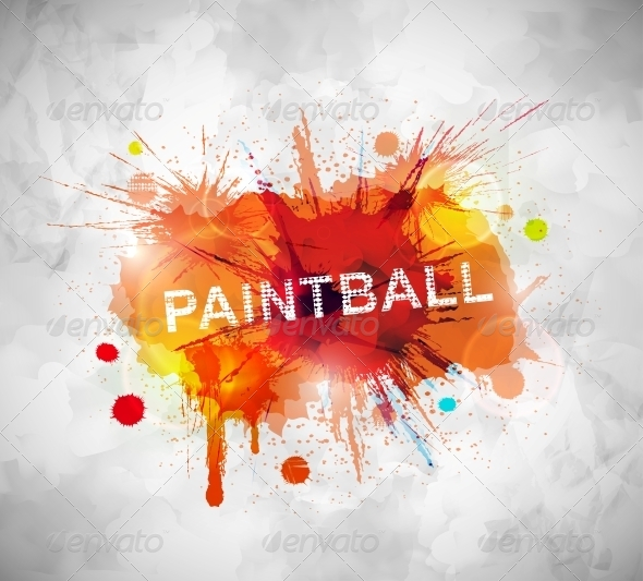 GraphicRiver Paintball Banner 5089025