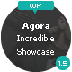 Agora - The Incredible Showcase Theme - ThemeForest Item for Sale