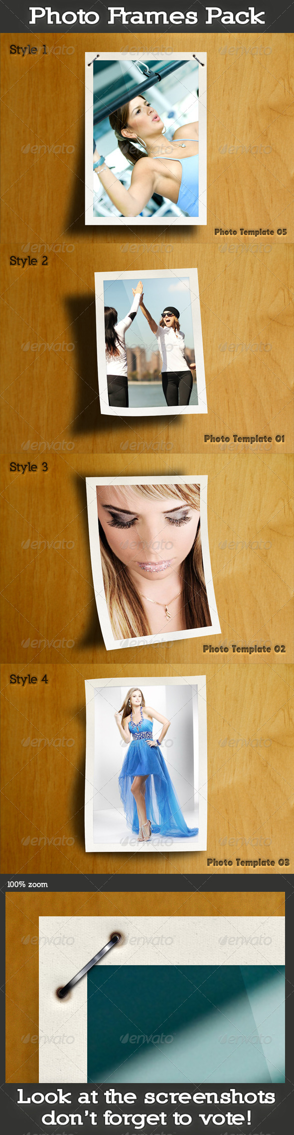 GraphicRiver Photo Frames Pack 5091857