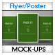 Flyer Poster Mockups vol 02  - GraphicRiver Item for Sale