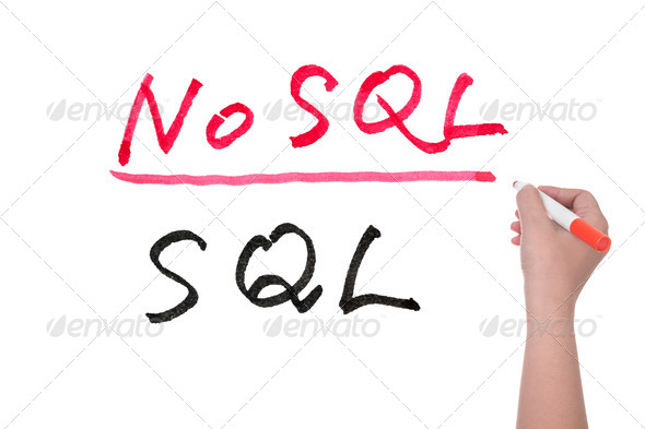 SQL or NoSQL - Stock Photo - Images