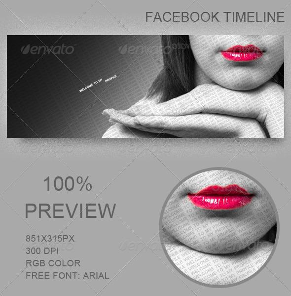 GraphicRiver Facebook profil 5092937