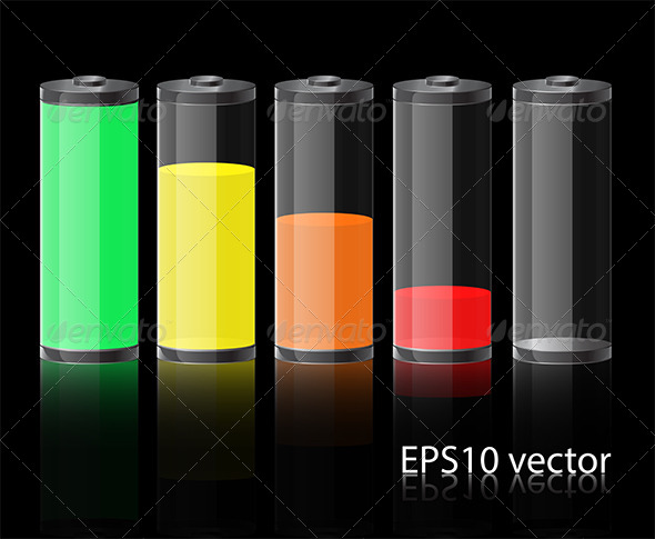 GraphicRiver Glass Battery 5079369